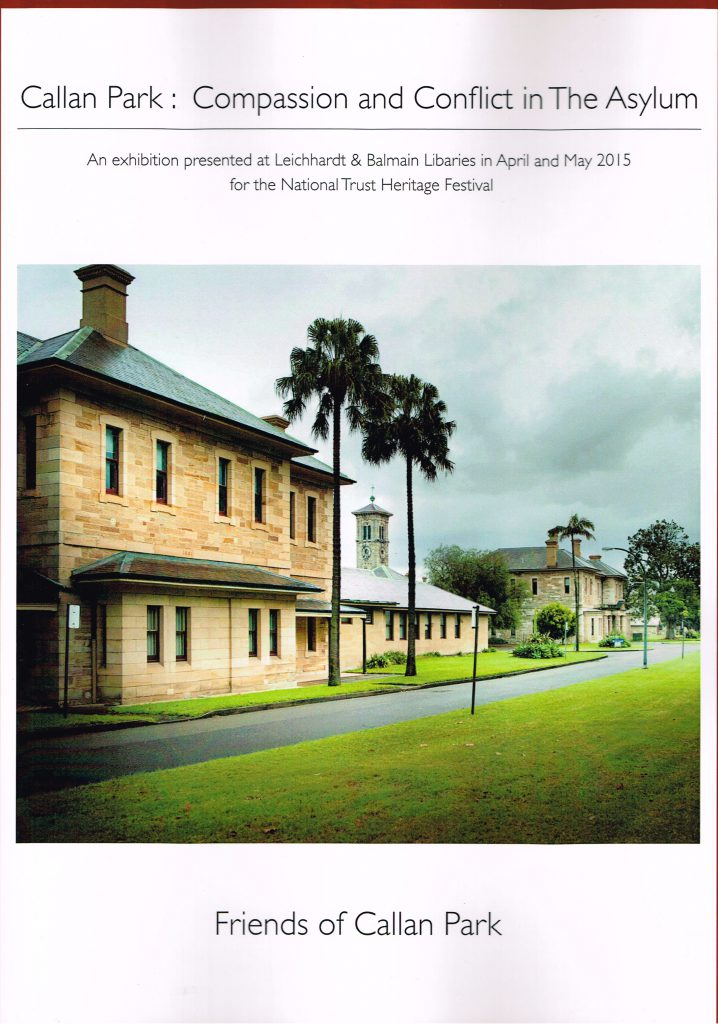 Callan Park: Compassion and Conflict in The Asylum by Roslyn Burge