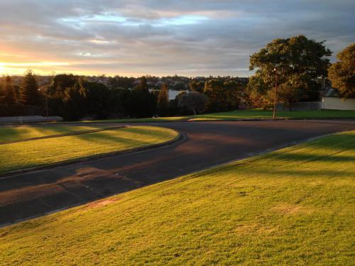 Callan Park at sunset