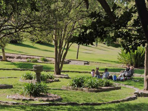 Sunken Garden Picnic